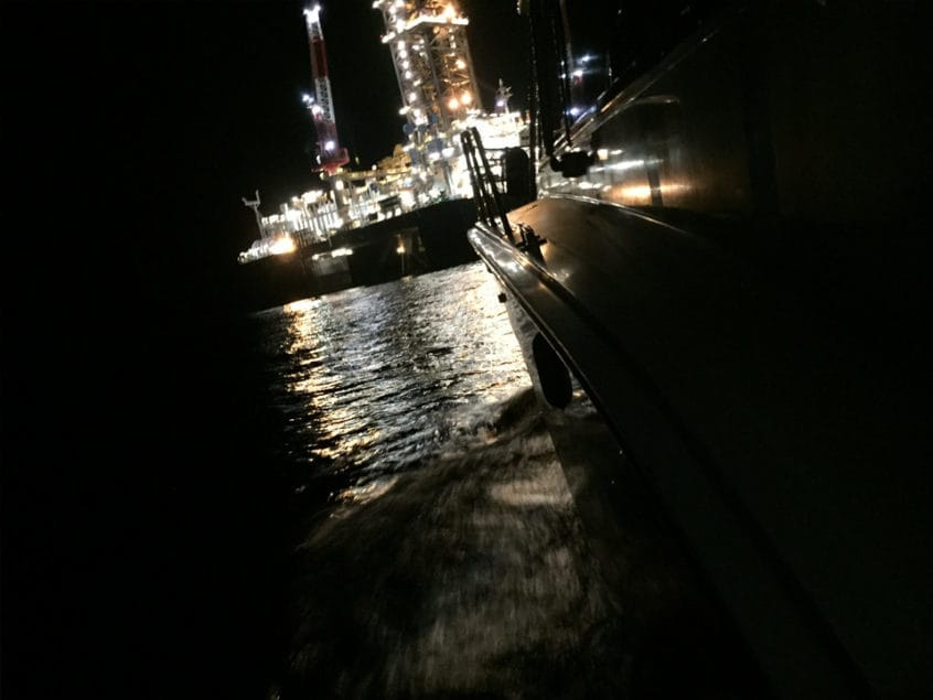 Gulf of Mexico Oil Rig Biloxi Blue Waters Charters